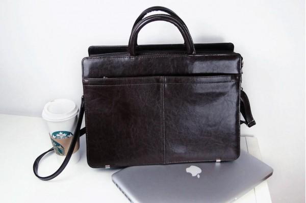 Cartello damska skórzana torba na laptopa Maria 01
