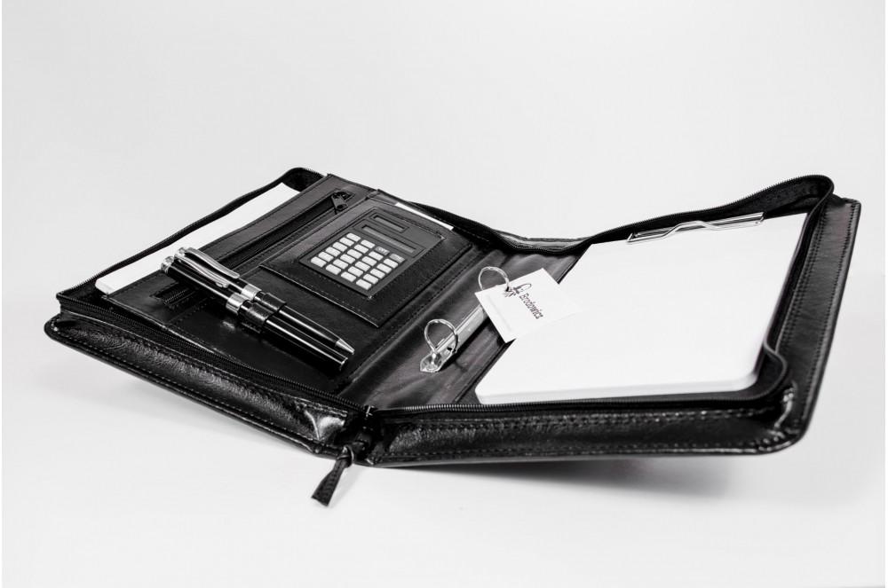 e32daf3e62410 ... Brodowicz aktówka A5 na dokumenty z kalkulatorem BROD-AK20-1 ...