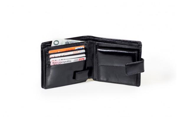 Cartello  skórzany portfel męski M500