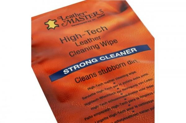 STRONG CLEANER - środek czyszczący do skóry / 1 ściereczka
