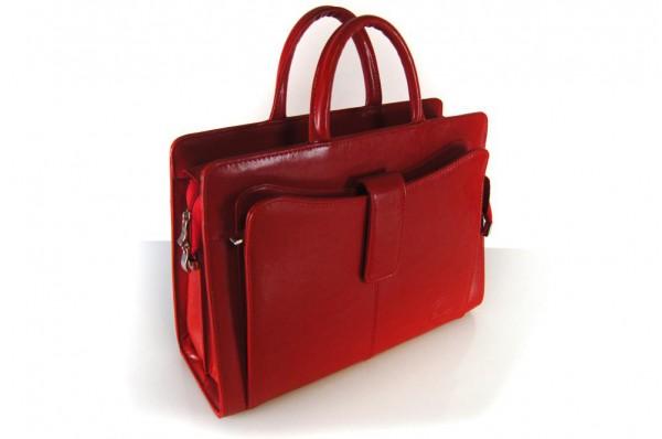 Cartello skórzany biznesowy kuferek damski Maria 02